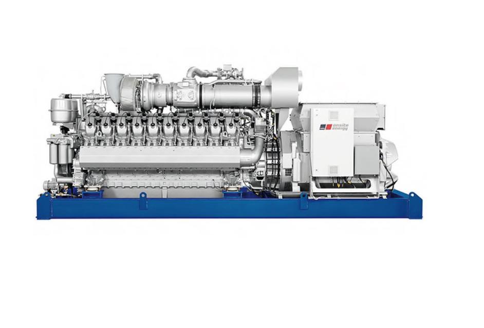 2MW燃气机组图片